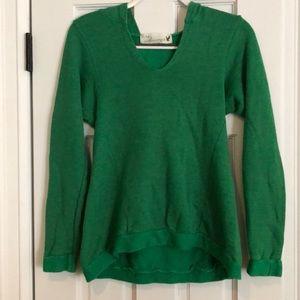 Vintage Havana M green terry sweater